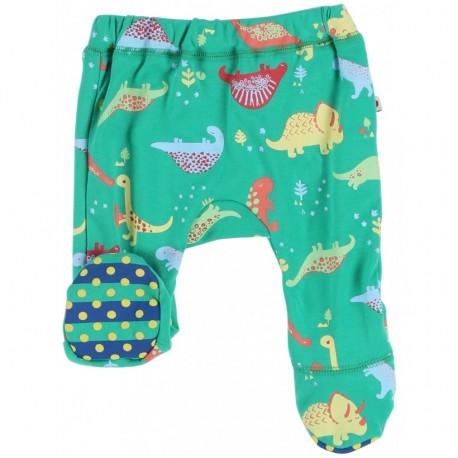 Pantalon avec pieds en coton bio Piccalilly