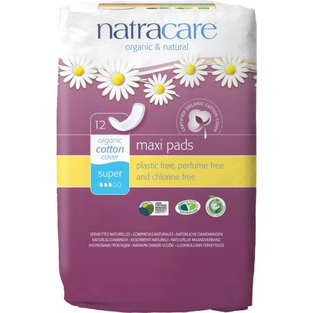 Serviettes Natracare super