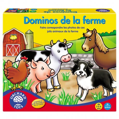 Orchard Toys Dominos de la Ferme