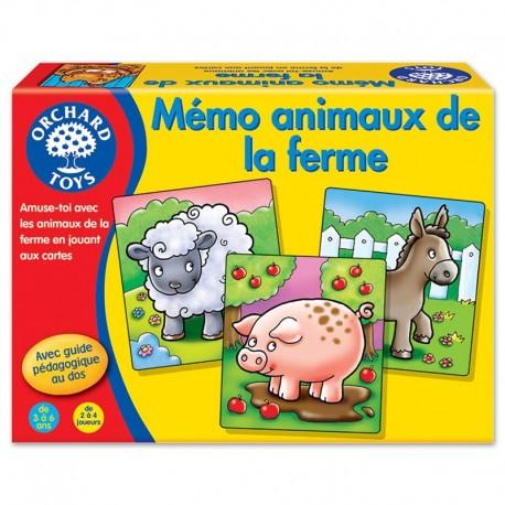 Orchard Toys Mémo Animaux de la Ferme