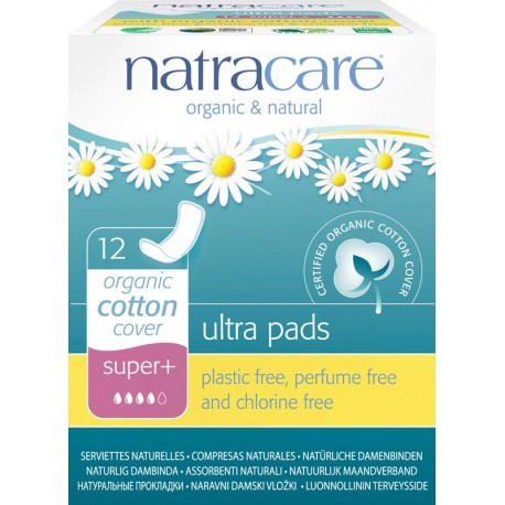 Serviettes Natracare ultra-fines super plus