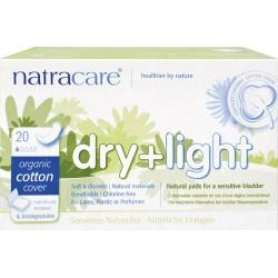 Serviettes Natracare hygiénique incontinence
