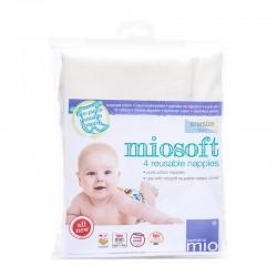 Pack de 4 langes lavables Miosoft