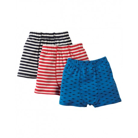 "Pack de 3 boxers enfant ""Requin"" Frugi"