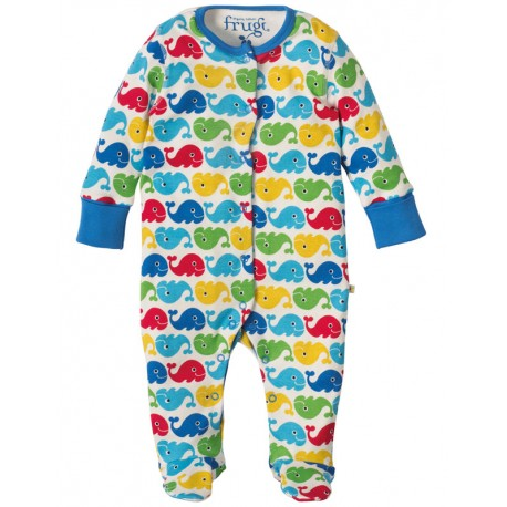 "Pyjama en coton bio ""Baleines"" Frugi"