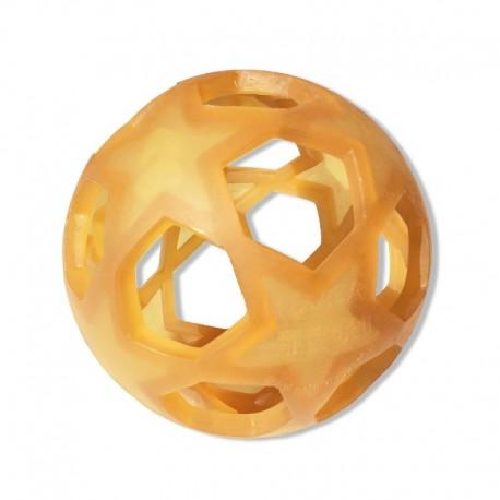 Jouet / anneau de dentition en caoutchouc Star Ball Hevea
