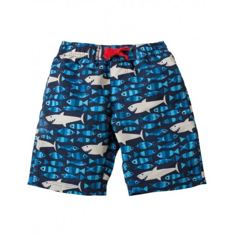 Short de bain Frugi motif Requins