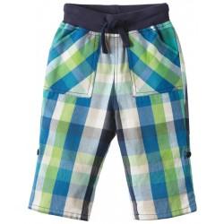Pantalon en coton biologique Frugi à carreaux
