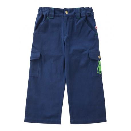 Pantalon treillis bleu Piccalilly