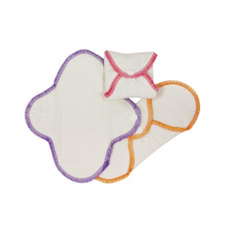 Serviettes Hygièniques Lavables Mini IMSEVIMSE (3 pcs)