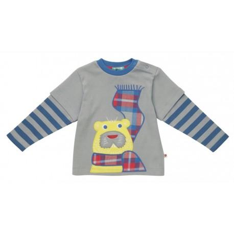 T-shirt castor en coton bio Piccalilly