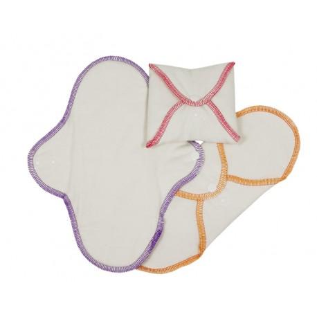 Serviettes Hygiéniques Lavables Normales IMSEVIMSE (3 pcs)