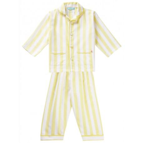 Pyjama en coton bio tissé Piccalilly