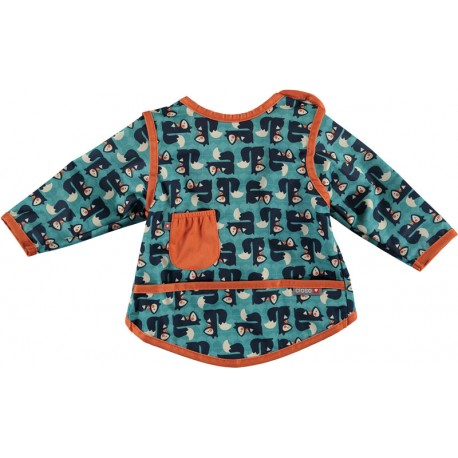 Bavoir Pop-In Coverall 6-18 m - Motif Ecureuil