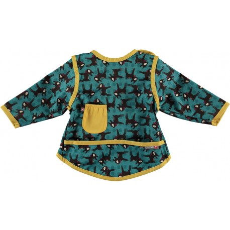 Bavoir Pop-In Coverall 6-18 m - Motif Cerf