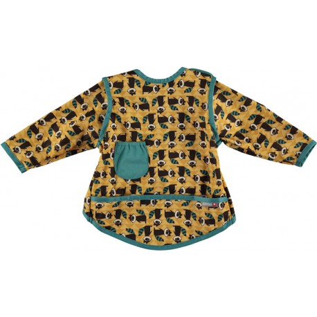 Bavoir Pop-In Coverall 6-18 m - Motif Raton Laveur