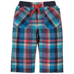 FRUGI pantalon cosy écossais