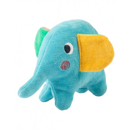 "FRUGI ""Squidge"" elephant rattle"