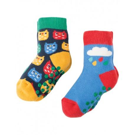FRUGI chaussettes épaisses avec semelles antidérapantes