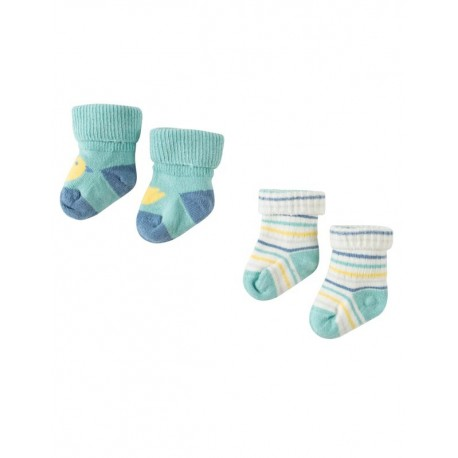 FRUGI chaussettes pack de 2 motif Canard