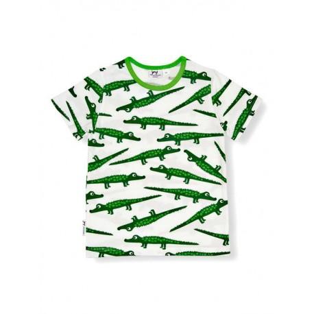 JNY T-shirt manches courtes motif crocodile