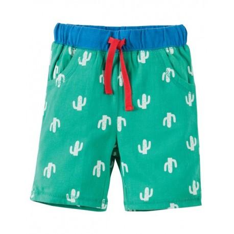 FRUGI short en coton biologique motif cactus
