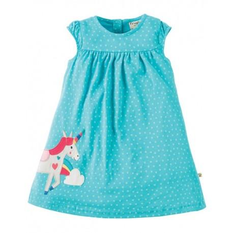 FRUGI robe motif licorne