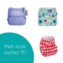 Pack essai de couches lavables TE1
