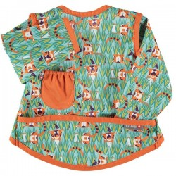 Bavoir Pop-In Coverall 18-36 m - Motif Tigre