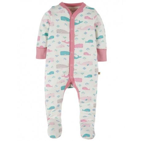 FRUGI pyjama en coton bio motif baleines