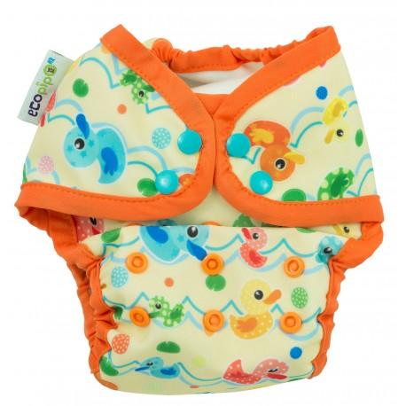 Couche maillot de bain pour plage / piscine Ecopipo - motif Canard