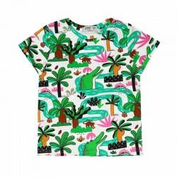 RASPBERRY REPUBLIC T-shirt manches courtes motif Amazonia