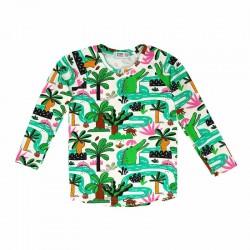 RASPBERRY REPUBLIC T-shirt manches longues motif Amazonia