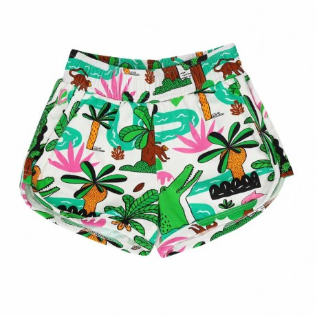 RASPBERRY REPUBLIC short motif Amazonia