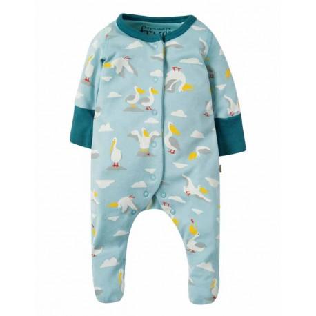Pyjama en coton bio FRUGI motif Pélican