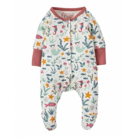 Pyjama en coton bio FRUGI motif Sirène