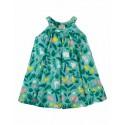 Robe trapèze en coton bio Frugi motif Ferme