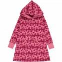 Robe sweat en coton bio Maxomorra - Paysage rose
