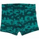 Boxer en coton bio Maxomorra - Paysage turquoise