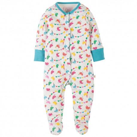 Pyjama en coton bio FRUGI - Oiseaux en fête