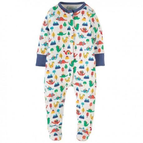 Pyjama en coton bio FRUGI - Dinosaures
