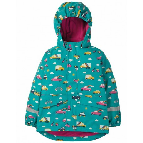 Coupe-vent Frugi, motif Véhicules