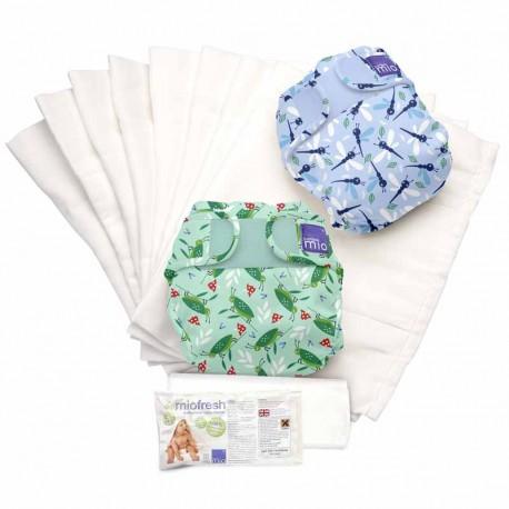 Kit de demarrage couches lavables Mioduo de Bambino Mio