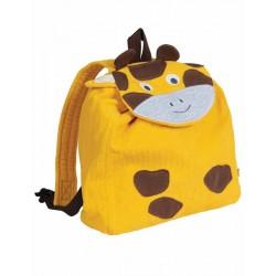 FRUGI sac à dos en coton bio girafe