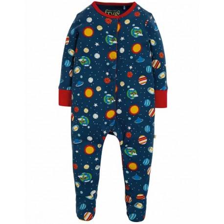 FRUGI pyjama en coton bio, motif Intergalactique