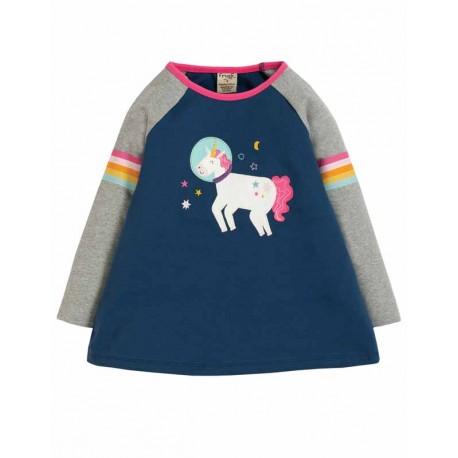 FRUGI T-shirt en coton bio, motif Licorne