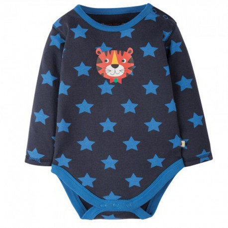 FRUGI body manches longues - motif Tigre