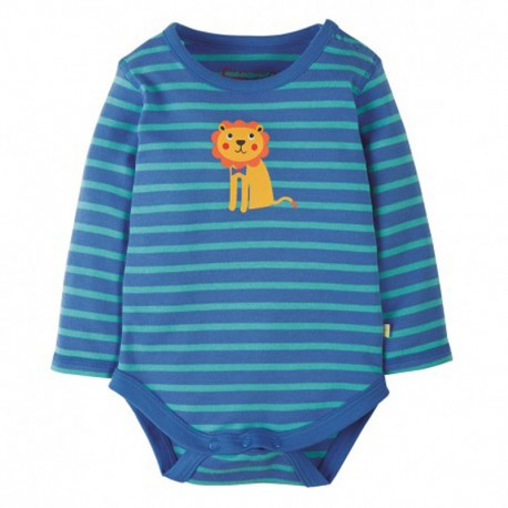 FRUGI body manches longues - motif Lion