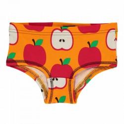 Slip en coton bio Maxomorra, motif Pomme