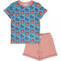 Pyjama d'été en coton bio Maxomorra, motif Oiseaux